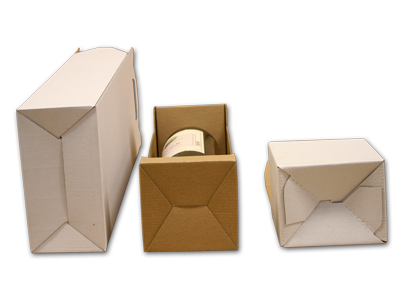 Alul önzáras dobozok közelről.