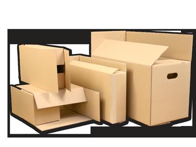 Tető-, fenéklapolt dobozok:<br />Főleg gyűjtő csomagolásra, laposra hajtogatott formában tárolható és szállítható.<br />Élek összeerősítése átlapolással és ragasztással, vagy ragasztószalaggal.